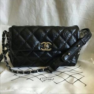 Chanel black shoulder bag